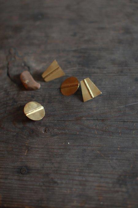 Avilla Iris Stud Earrings