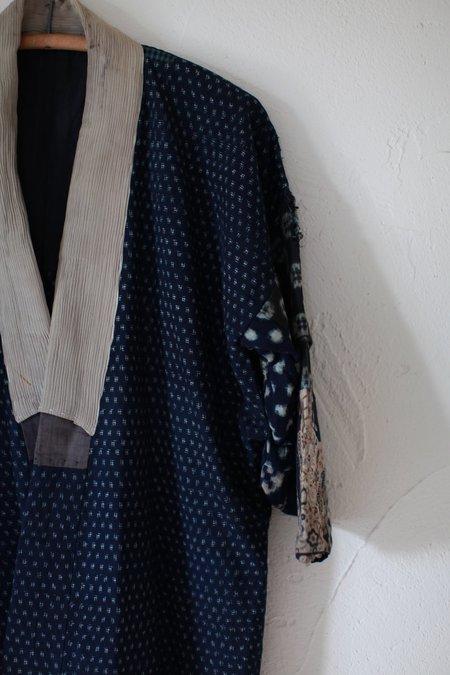 Vintage Japanese Kimono - Indigo