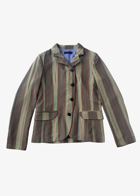 Le's Hydra Jacket - beiuge/brown/blue