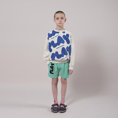 Kids Bobo Choses Child Bermuda Shorts With Play Print - Green