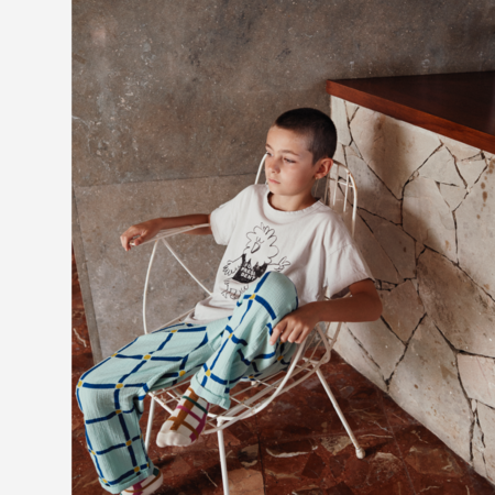 Kids Bobo Choses Cube All Over Baggy Trousers