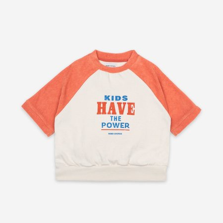 Kids Have The Power Short Sleeve Sweatshirt
