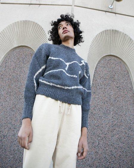 Paloma Wool Palmira Sweater - Dark Grey