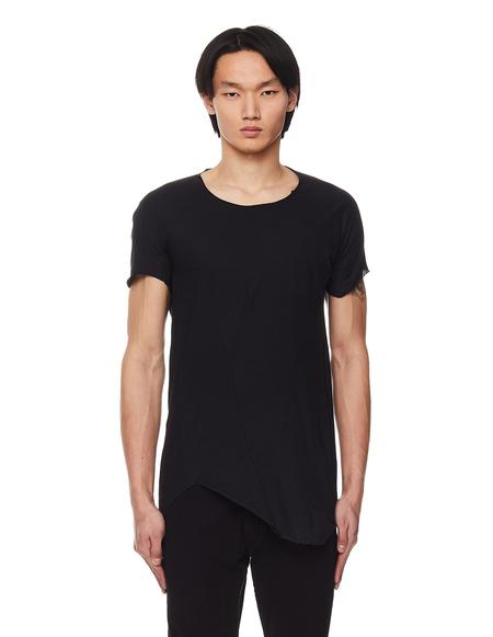 Leon Emanuel Blanck Cotton & Wool T- shirt - Black