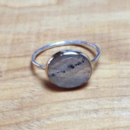 Melissa Joy Manning Labradorite Ring