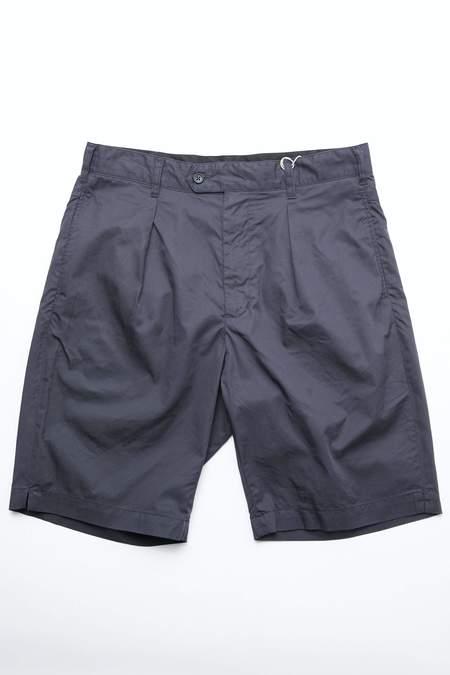 Engineered Garments Sunset Short - Dark Navy High Count Twill