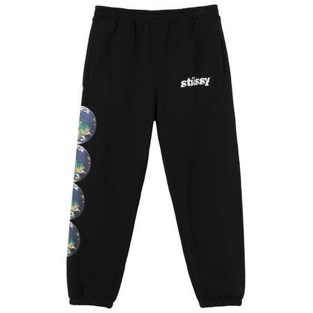 Stussy Catch The Wave Sweatpants - Black