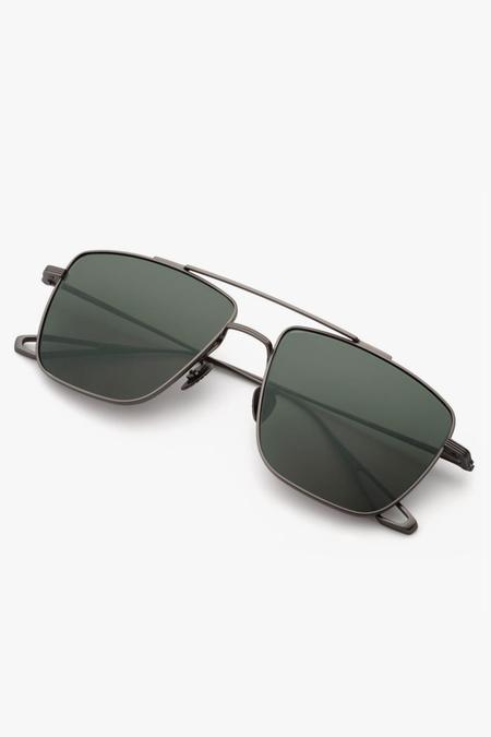 Krewe Bolden Sunglasses - Matte Gunmetal Titanium