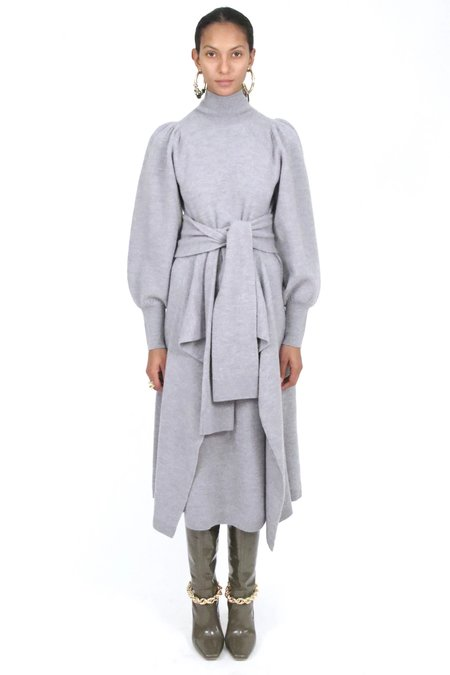Ulla Johnson Astrid Dress - Light Heather Grey