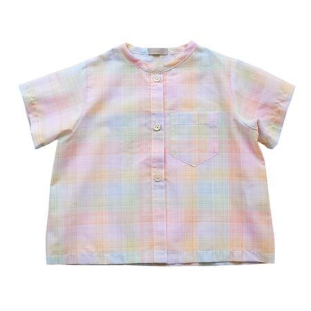 Kdis Makie Brett Shirt - Rainbow Check