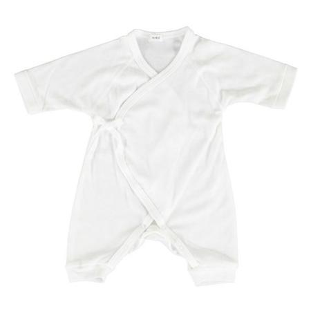 Kids Makie Cotton Hadagi Romper - White