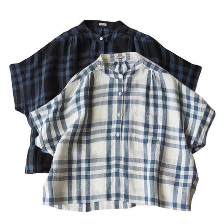 Makie Claudia Shirt - Blue Plaid