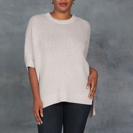 Organic By John Patrick Thermal Pullover Beige