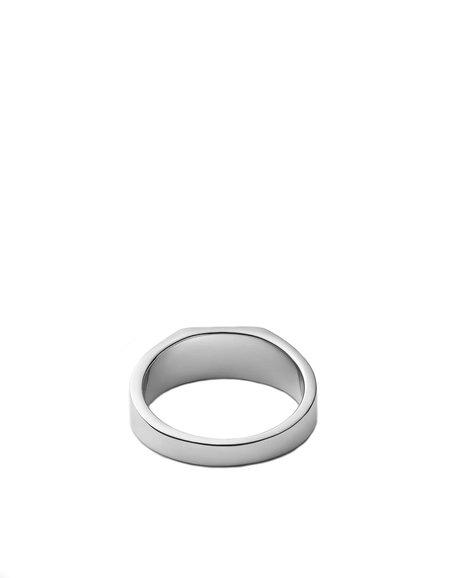 Miansai Geo Signet Ring - Sterling Silver