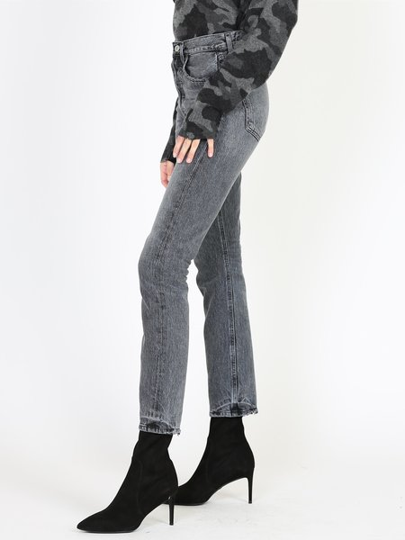 Citizens of Humanity Charlotte Hight Rise Straight Jean - Grayscale