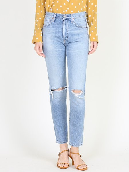 Citizens of Humanity Liya High Rise Classic Jean - Torn