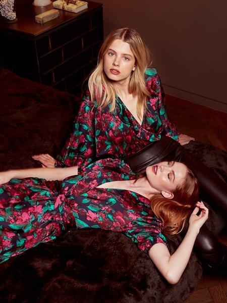 Misa Los Angeles Narcissa Dress - Enchanted Floral
