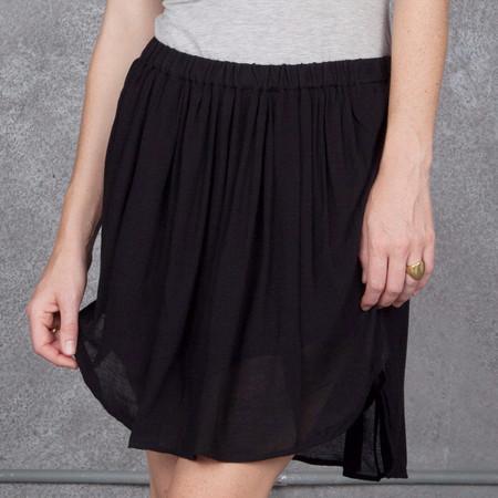 Raquel Allegra Pleat Skirt