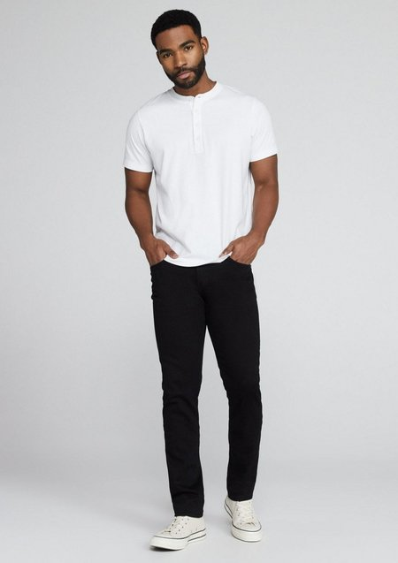 J Brand Tyler Slim Tapered Jeans - Seriously Black