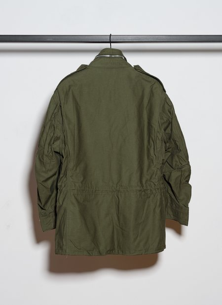 Vintage M-65 Field Jacket Type 2nd from 1969 - Olive