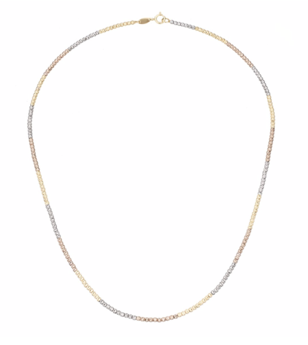 Adina Reyter Ombre Bead Chain Necklace - 14K Yellow Gold