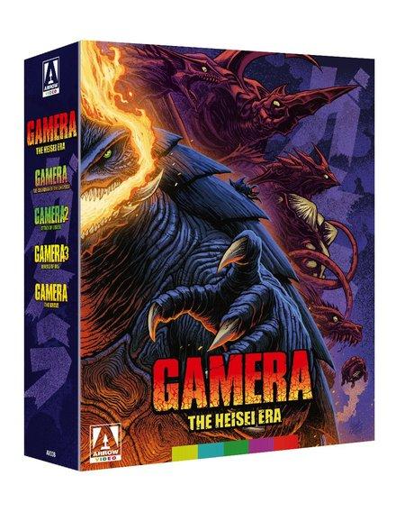 Arrow Films Gamera, The Heisei Era - Blu Ray
