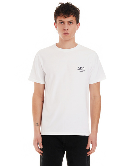 A.P.C. T-shirt with Print - White