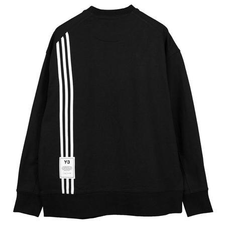 Adidas Y-3 STP Terry Crew Sweatshirt - Black
