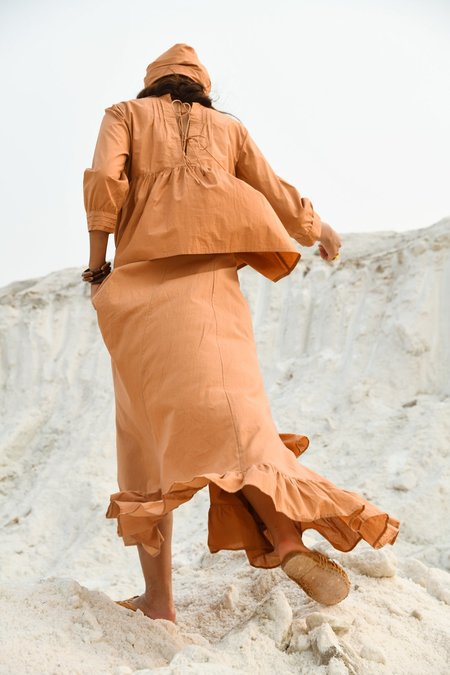 Little Tienda Dunes Carolina skirt - orange