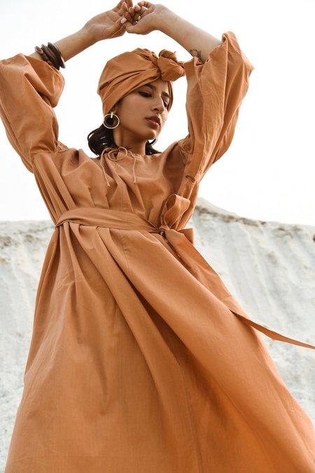 Little Tienda Dunes Martha dress - brown