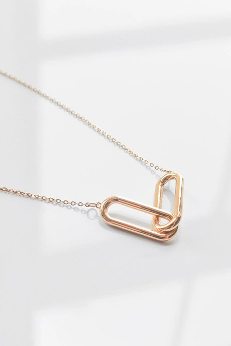 Thatch Lumos Necklace - 14k gold plated