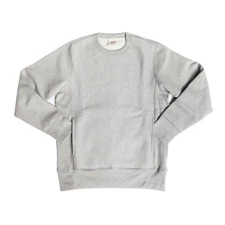 3Sixteen HWC Heavyweight Crew Heather sweater - Grey