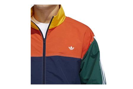 adidas Summer B-Ball Windbreaker GD2054 jacket - Navy Amber