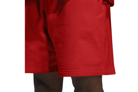 UNISEX adidas x Pharrell Williams GH4402 Basic Shorts - Active Red