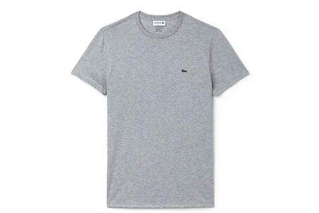 Lacoste Crew Neck TH6709-51 T-Shirt - Silver
