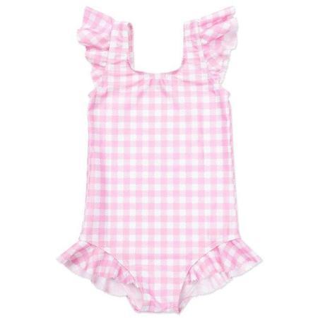 kids bonton alina swimsuit - vichy rose