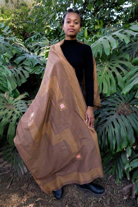 Block Shop Textiles Deco Scarf - Clove