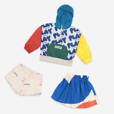 Kids Unisex Bobo Choses Play All Over Rain Jacket - Multi