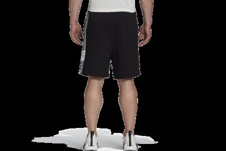 adidas x Y-3 3 Stripe Terry Shorts - Black