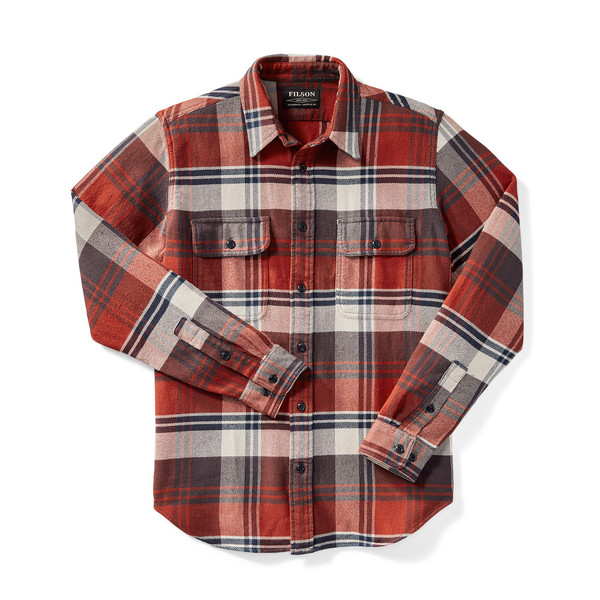 Men's Filson Vintage Flannel Work Shirt
