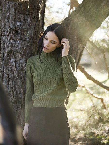 MILA ZOVKO ANKA Sweater - Olive