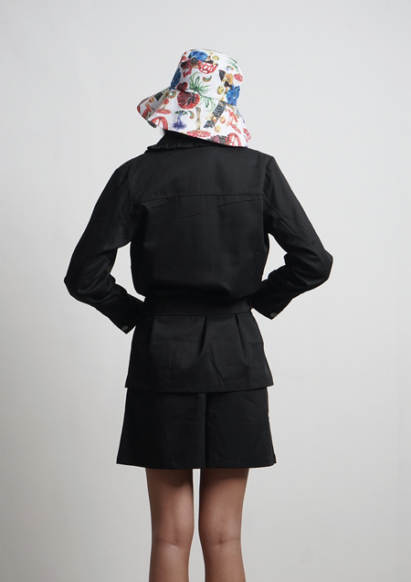 ENSEMBLE THE LABEL CHANTRELLE JACKET - BLACK