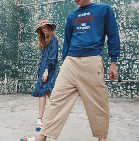 Unisex Bobo Choses Kids Have The Power Sweatshirt - Blue
