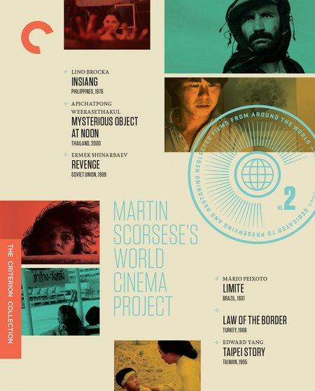 "Criterion ""Martin Scorsese's World Cinema Project No. 2"" Films"