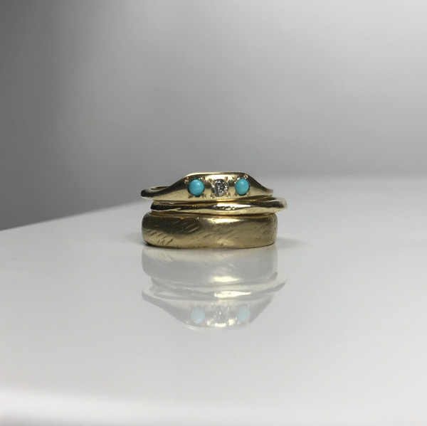 Mercurial NYC Plateau Ring