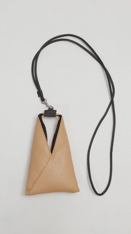 MM6 by Maison Margiela Mini Nappa Bag - Tan