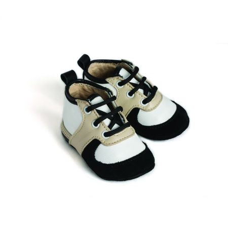 Little Lulu's Monochrome Louie Tennis Shoes