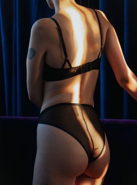 Lorette Lingerie New Moon Panties - Black