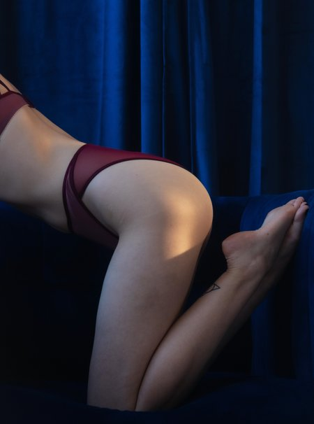 Lorette Lingerie New Moon Panties - Rose