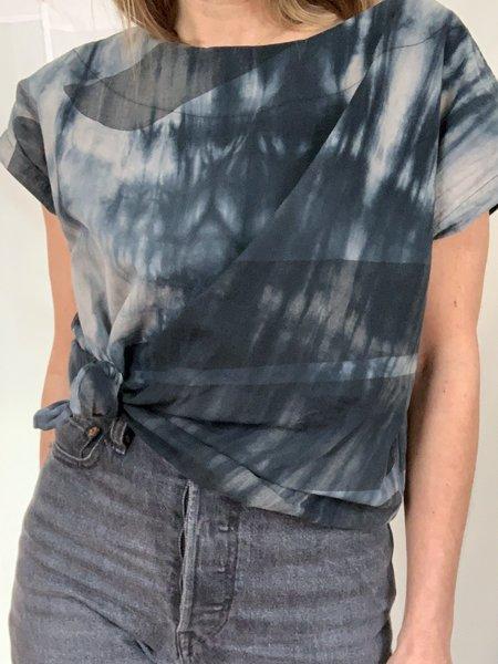 Uzi NYC Tunic - Tie Dye Swipe